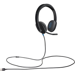 Logitech High-performance USB Headset H540 for Windows and Mac, Skype Certified and Online Learning.