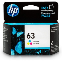 HP 63 Colour Original Ink Cartridge