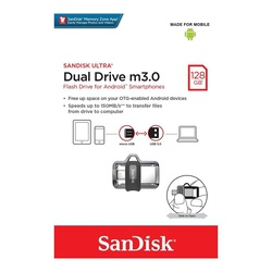 SanDisk Ultra 128GB Dual Drive m3.0 for Android Devices and Computers