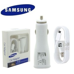 Samsung Traveling Car Adapter Charger - White