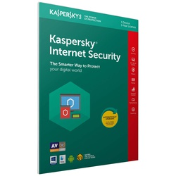 Kaspersky Internet Security 2019  1+1 Devices  1 Year  PC MacAndroid  Activation Code Inside