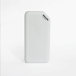 Philips DLP2720NW 20000mAH Lithium Ion Power Bank WHITE  BLACK COLOURS