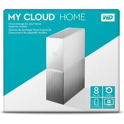 WD 8TB My Cloud Home Personal Cloud Storage - WDBVXC0080HWT