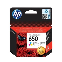 HP 650 Original Ink Advantage Cartridge - Tri-Colour