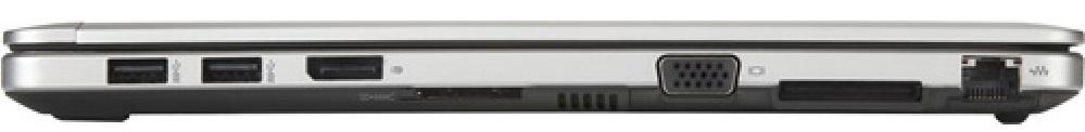 HP Folio 9480 USB ports