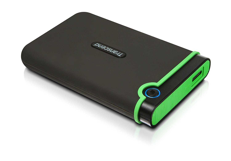 Transcend StoreJet 25M3 - Hard drive - 1 TB - external
